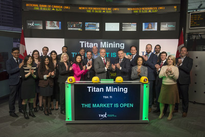 Titan Mining Corporation Opens the Market (CNW Group/TMX Group Limited)