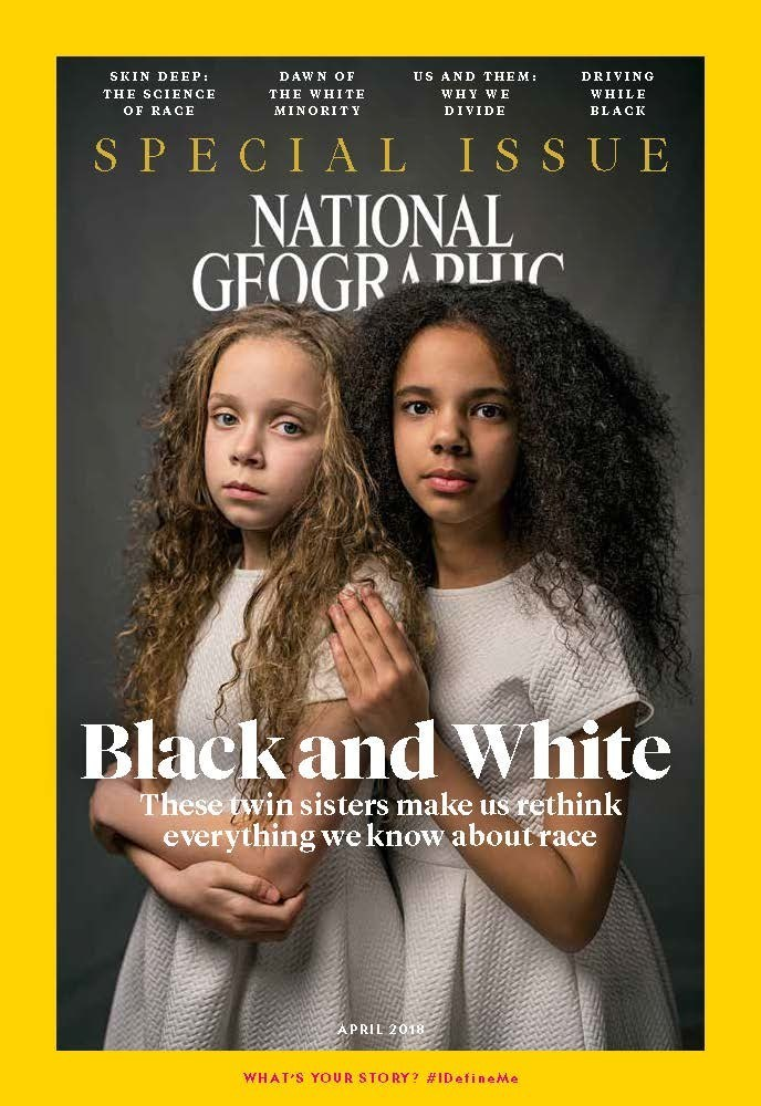 National Geographic Magazine April 2018, The Race Issue, nationalgeographic.com