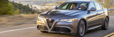 The 2017 Alfa Romeo Giulia is available now at Palmen Fiat.