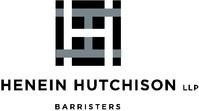 Henein Hutchison LLP (CNW Group/Henein Hutchison LLP)
