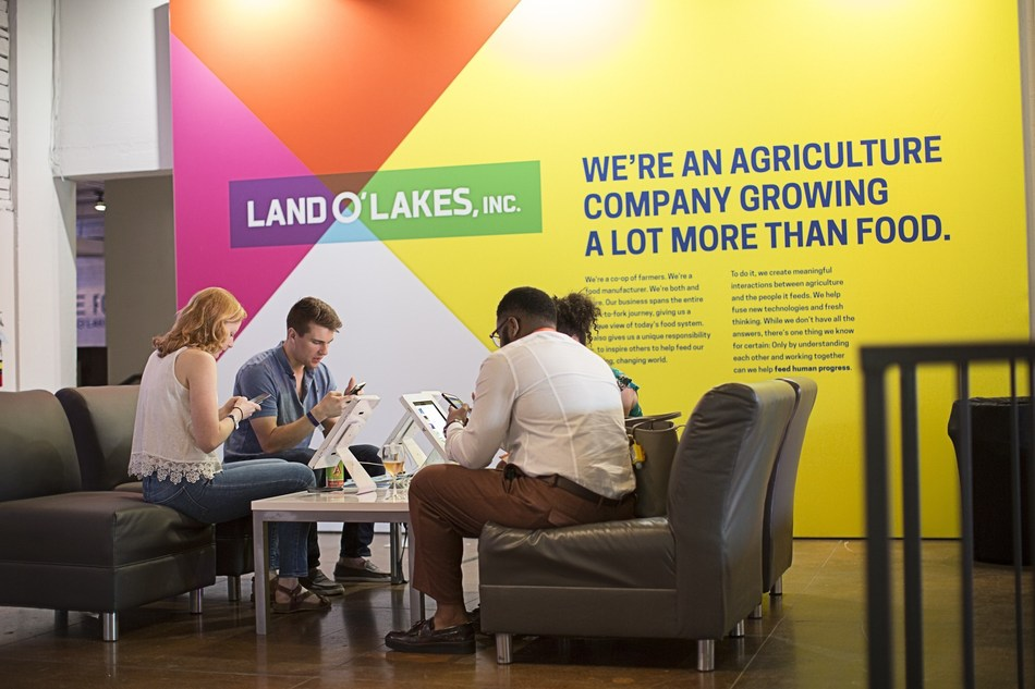 Land O'Lakes, Inc. is opening up a candid conversation about how we farm and eat. The Food Effect, open to the public March 9 through 12, demonstrates that solutions for feeding the world's population are going to come from all sectors. (Photo courtesy of Land O'Lakes, Inc.)