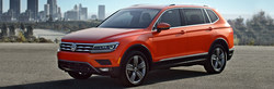 The 2018 Volkswagen Tiguan is all-new with a longer wheelbase and among the models on special at Brandon Volkswagen.