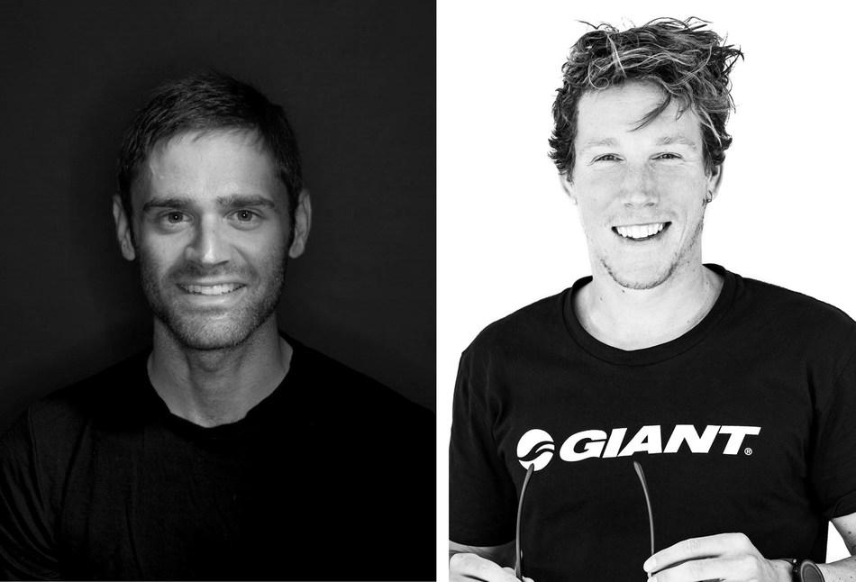 Left: Phil Gaimon. Right: Sam Appleton. Photo credit for Appleton photo: Jesper Gronnemark .