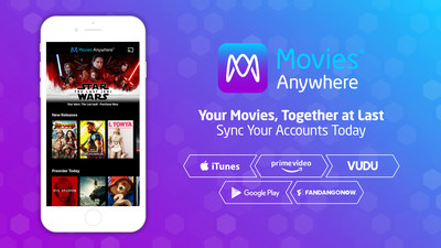 Movies Anywhere Welcomes FandangoNOW