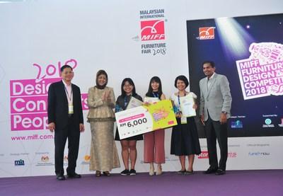 MIFF FDC 2018 Winners and VIPs (PRNewsfoto/UBM Asia (Malaysia))