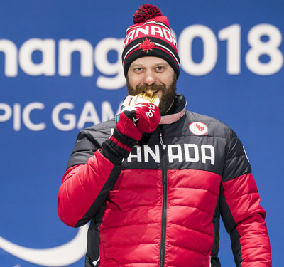 Kurt Oatway claimed Canada's second gold medal of the PyeongChang 2018 Paralympic Winter Games  PHOTO: CANADIAN PARALYMPIC COMMITTEE (CNW Group/Canadian Paralympic Committee (Sponsorships))