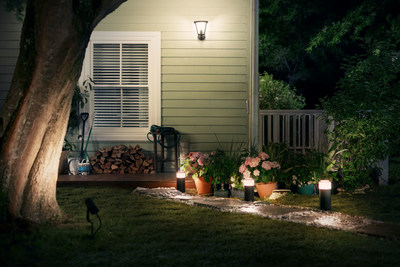 Extend your Philips Hue smart lighting system with new line of outdoor products available for purchase this summer