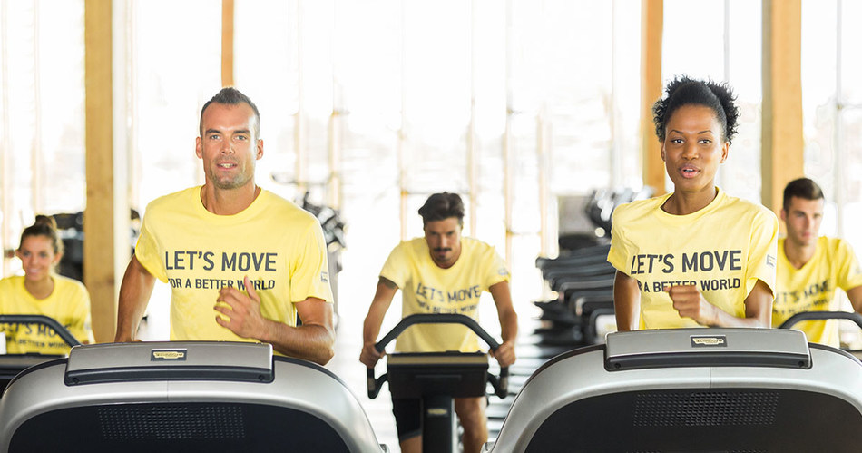 Let's Move For a Better World. A social campaign powered by Technogym (PRNewsfoto/Technogym)