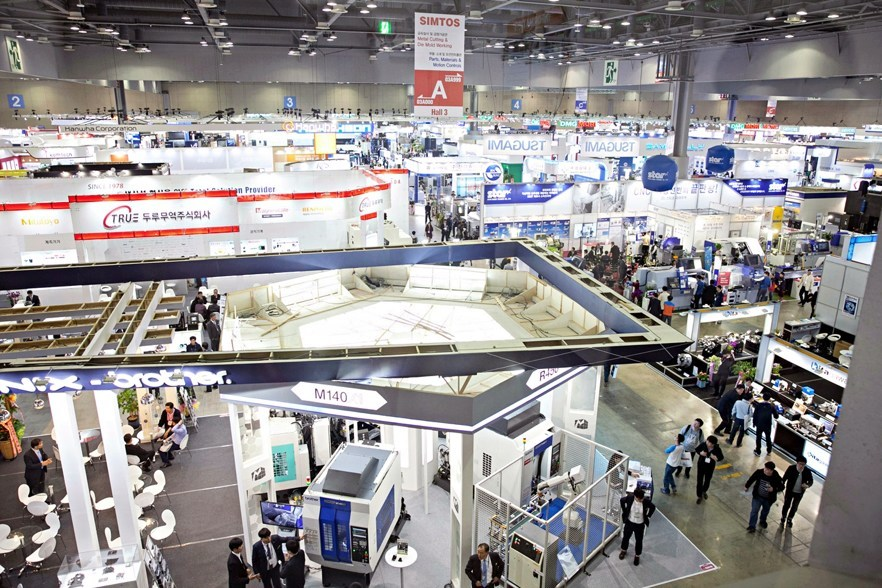Over 6,000 booths with more than 30 worldwide companies participate in SIMTOS 2018.