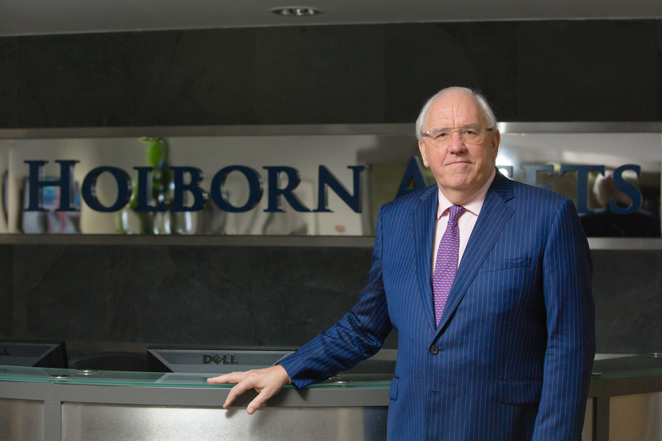 Bob Parker, CEO of Holborn, a leading expatriate financial advisory firm announces expansion into South Africa. (PRNewsfoto/Holborn Assets)