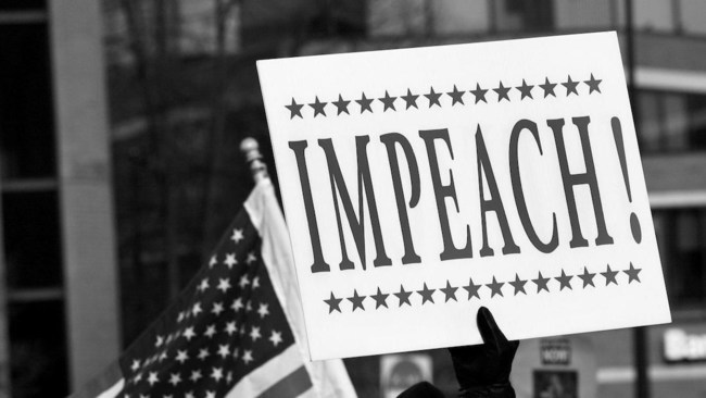 Americans are divided about impeachment