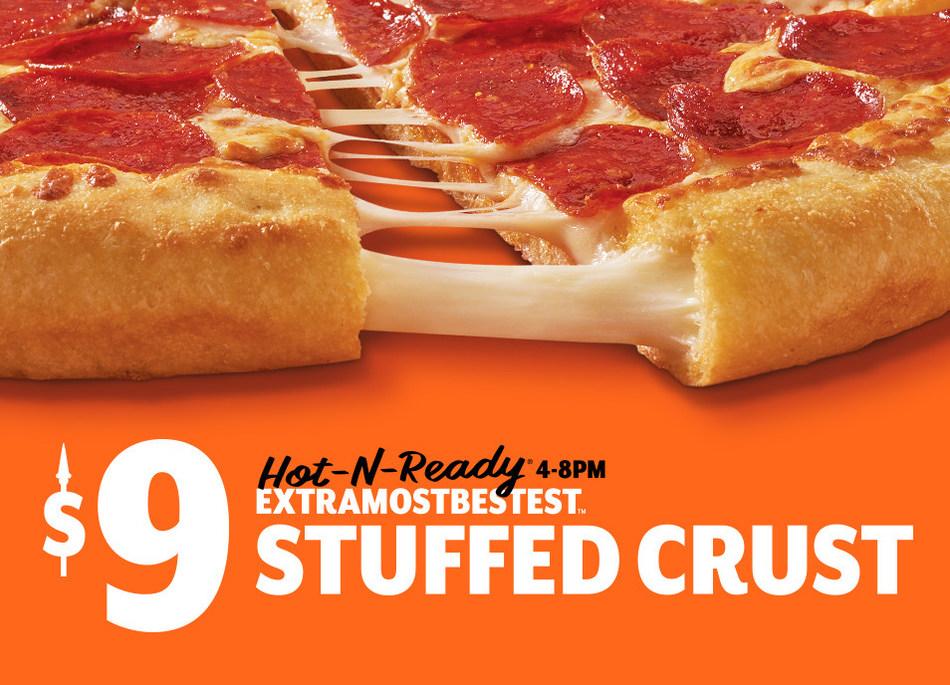 ExtraMostBestest Stuffed Crust Pizza