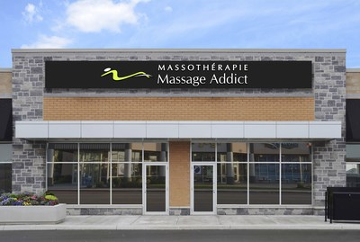 Massage in Montreal: Quebec's first Massothérapie Massage Addict Clinic is the company's 80th in Canada. (CNW Group/Massage Addict)