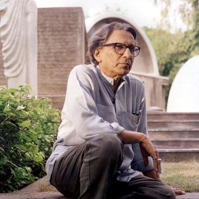 Balkrishna Doshi (photo courtesy of VSF)