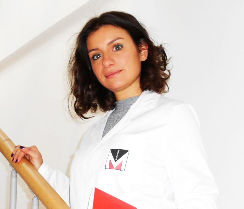 Lara Tamantini 17.000th employee in Menarini (PRNewsfoto/Menarini Group)