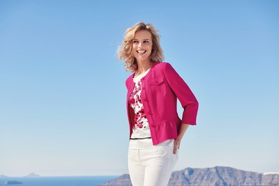 """Eva Herzigova selected for GERRY WEBER"" by Pamela Hanson. (PRNewsfoto/Gerry Weber International AG)"