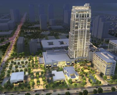Businessman Tilman Fertitta opens The Post Oak Hotel at Uptown Houston, the newest 10-acre luxury destination and singular mixed-use development in Houston, Texas.
