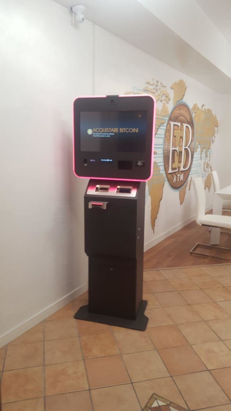 Evolution Bnk's ATMs that are being installed in Italy (CNW Group/LGC Capital Ltd)
