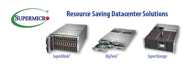 Supermicro reduces e-waste, power and costs with innovative Resource Saving solutions.