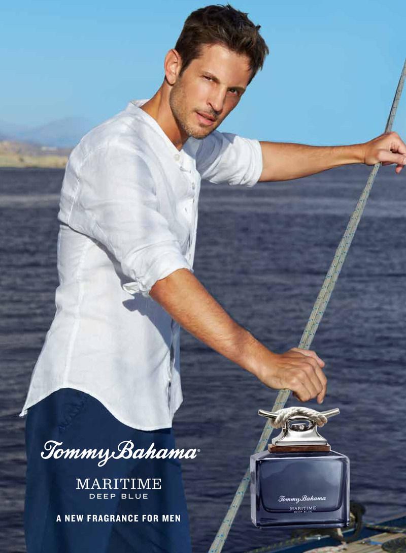Tommy Bahama Maritime Deep Blue Campaign