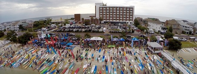 The Carolina Cup, Wrightsville Beach, NC - Aerial Images ILM