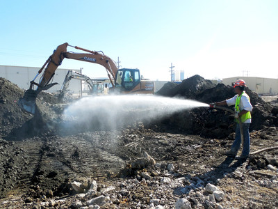 A team led by Burns & McDonnell saved time and money on a decommissioning, demolition and environmental remediation project for Loveland Products in Fairbury, Nebraska, by stabilizing impacted soil so that it could be transported as nonhazardous waste.