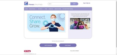 Explore the newly innovated Friends of Hu-Friedy online community for dental professionals at www.FriendsOfHu-Friedy.com!