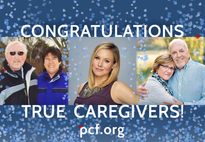 Kristen Bell and Prostate Cancer Foundation Announce Winners of TRUE Caregivers love story campaign