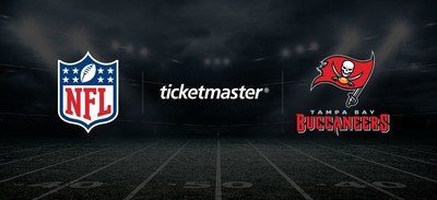TAMPA BAY BUCCANEERS EXTEND OFFICIAL PARTNERSHIP WITH TICKETMASTER, GO ALL IN ON DIGITAL TICKETING
