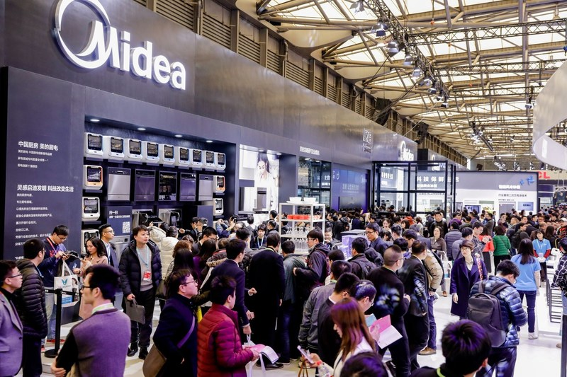 Midea Wows 2018 AWE with Smart Kitchen Experience