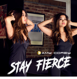"""Amy Corey launches her single """"Stay Fierce""""."""