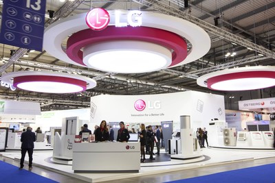 LG showcases HVAC solutions at MCE 2018.
