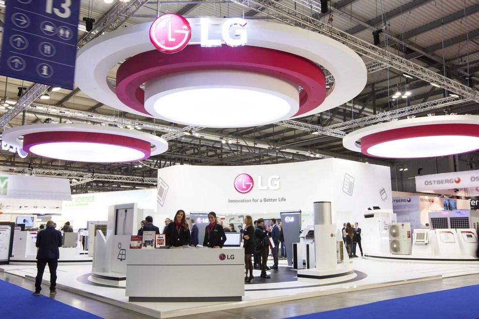 LG showcases HVAC solutions at MCE 2018.