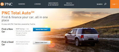PNC Bank Puts Car Buyers In The Driver's Seat With New Digital Auto