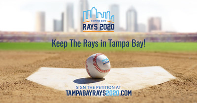Help Keep The Rays in Tampa Bay! Please sign the petition today at www.tampabayrays2020.com.