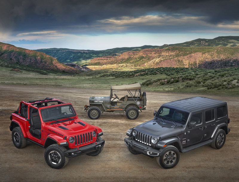 """""""Freedom & Adventure"""" advertising campaign launches All-New 2018 Jeep Wrangler"""
