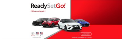 Car shoppers in the Bangor area who are looking for a great deal on a brand-new Toyota this spring will enjoy budget-friendly lease and finance incentives at Downeast Toyota during the Toyota Ready Set Go! sales event.