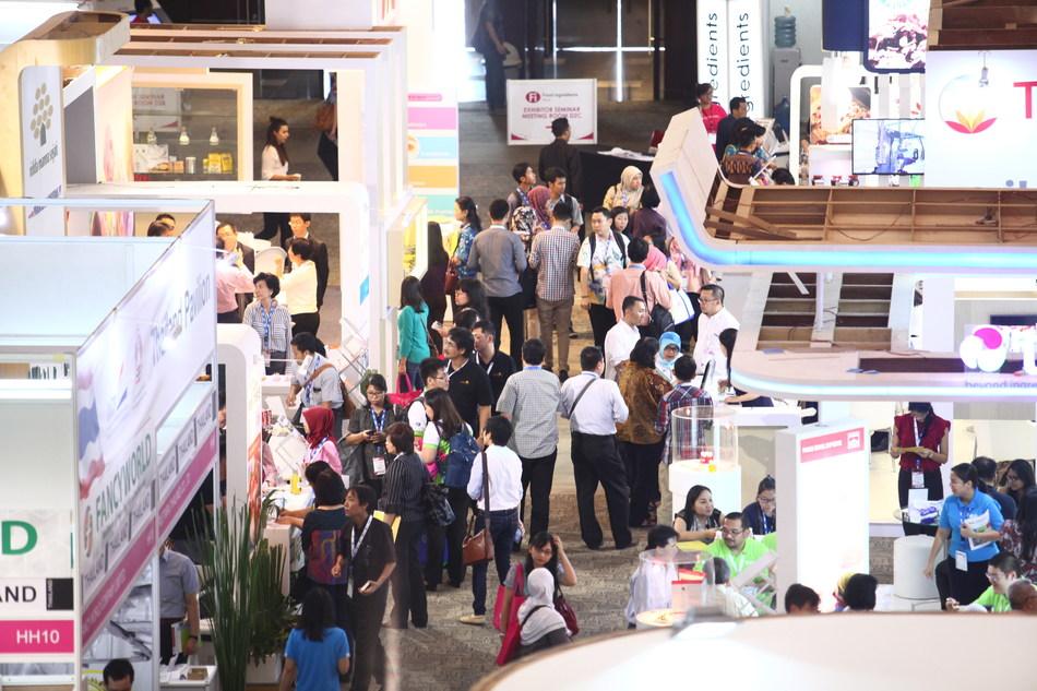 Hi South East Asia show floor (PRNewsfoto/UBM)