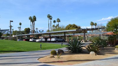 Sunrise Country Club: 450kW Solar Carport Installation in Progress