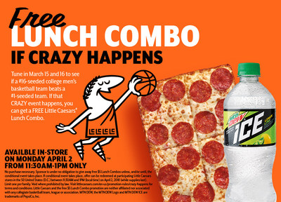 Free Lunch Combo If Crazy Happens