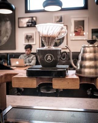 Analog Coffee, 17th Avenue, Calgary, Alberta. (CNW Group/Analog Coffee)