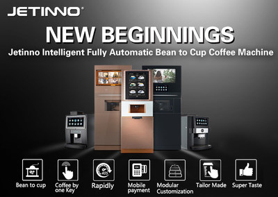 Jetinno Intelligent Fully Automatic Bean To Cup Coffee Machine