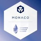 Monaco Joins the Enterprise Ethereum Alliance