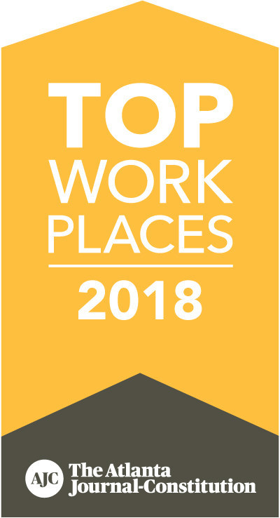 The Atlanta Journal-Constitution Names BrainJocks a Winner of The Atlanta 2018 Top Workplaces Award