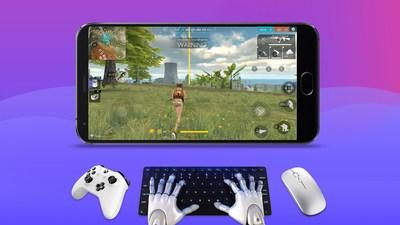 Jogue Free Fire ou qualquer jogo Android usando controle de jogos, mouse e teclado. (PRNewsfoto/Chaozhuo Technology Co., Ltd.)