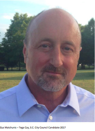Gus Matchunis, Tega Cay City Council candidate