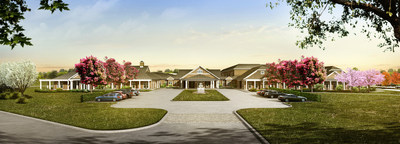 Wellbridge addiction treatment and research center in Calverton / Courtesy of Engel Burman Group.