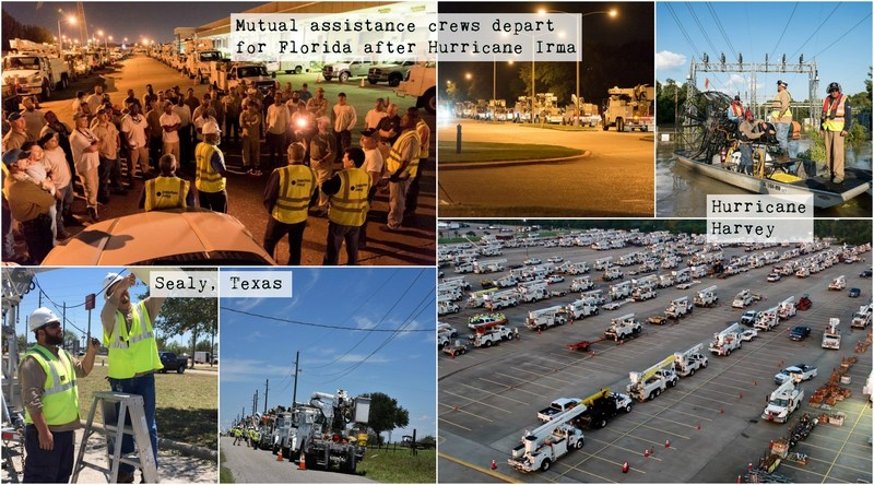 CenterPoint Energy earns three Edison Electric Institute awards for restoration efforts following Sealy Microburst, Hurricanes Harvey and Irma
