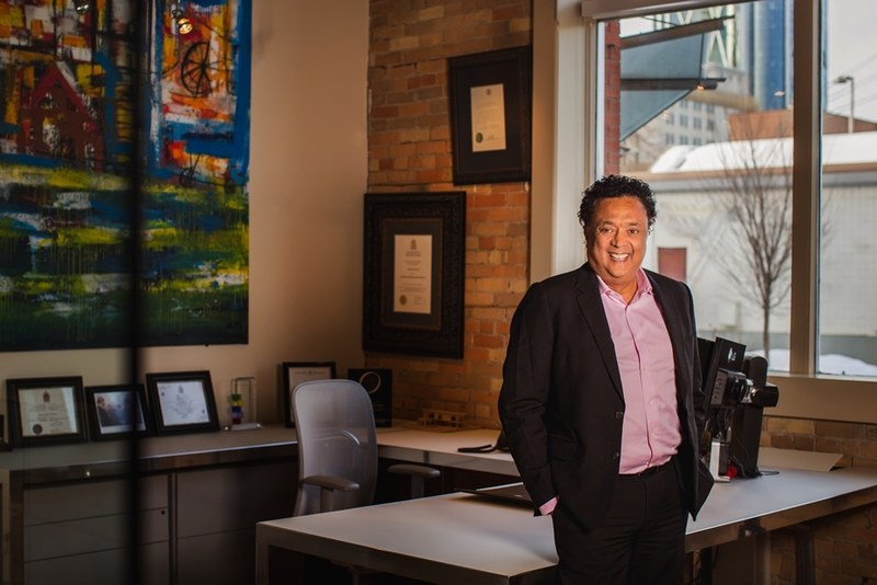 Navjeet (Bob) Dhillon; President and CEO of Mainstreet Equity Corporation. (CNW Group/University of Lethbridge)
