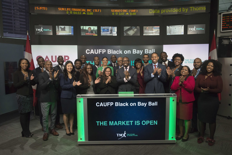 Canadian Association of Urban Financial Professionals Opens the Market (CNW Group/TMX Group Limited)